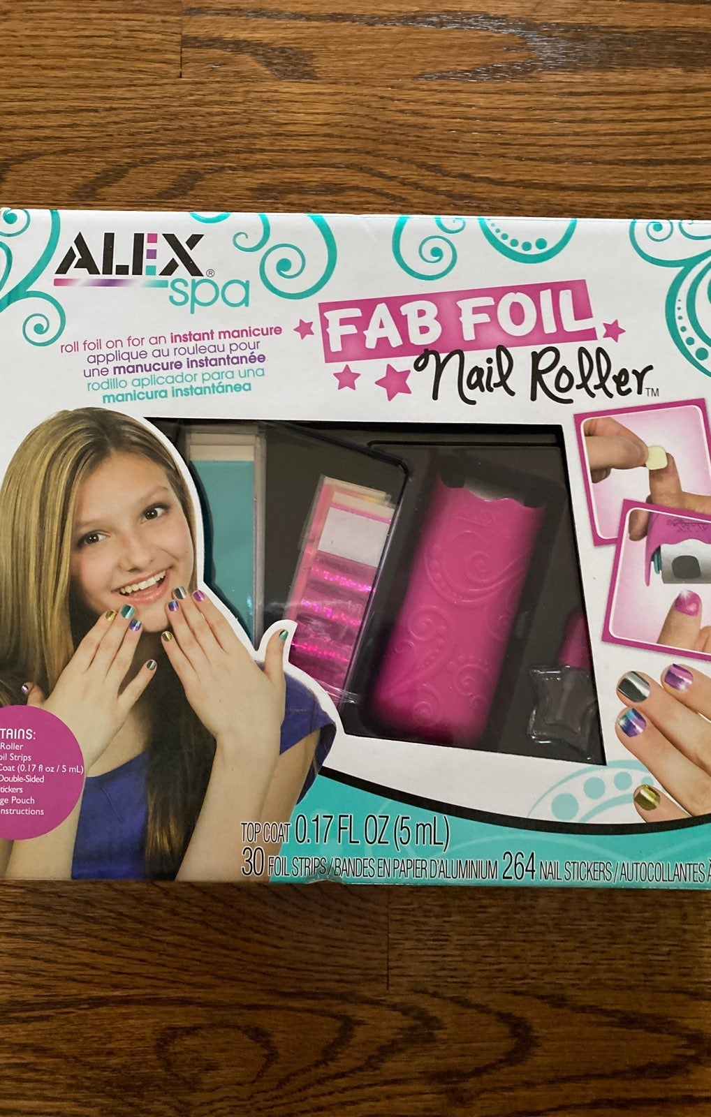 Alex spa foil nail roller nail art