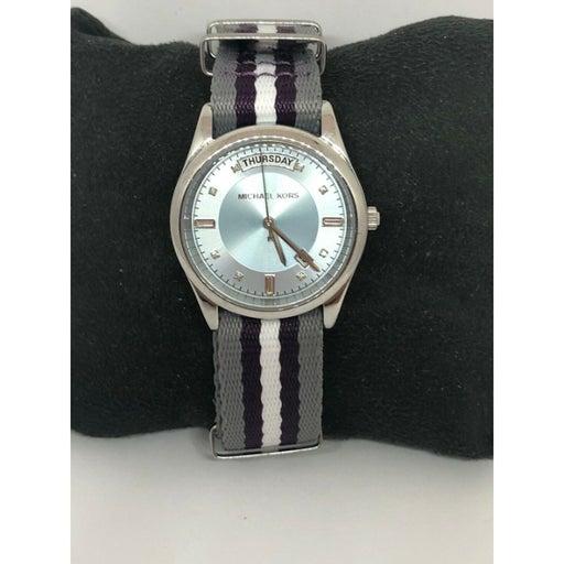 Michael Kors MK6069 Women's Nylon Analog Dial Wrist Watch With Custom Band DV100