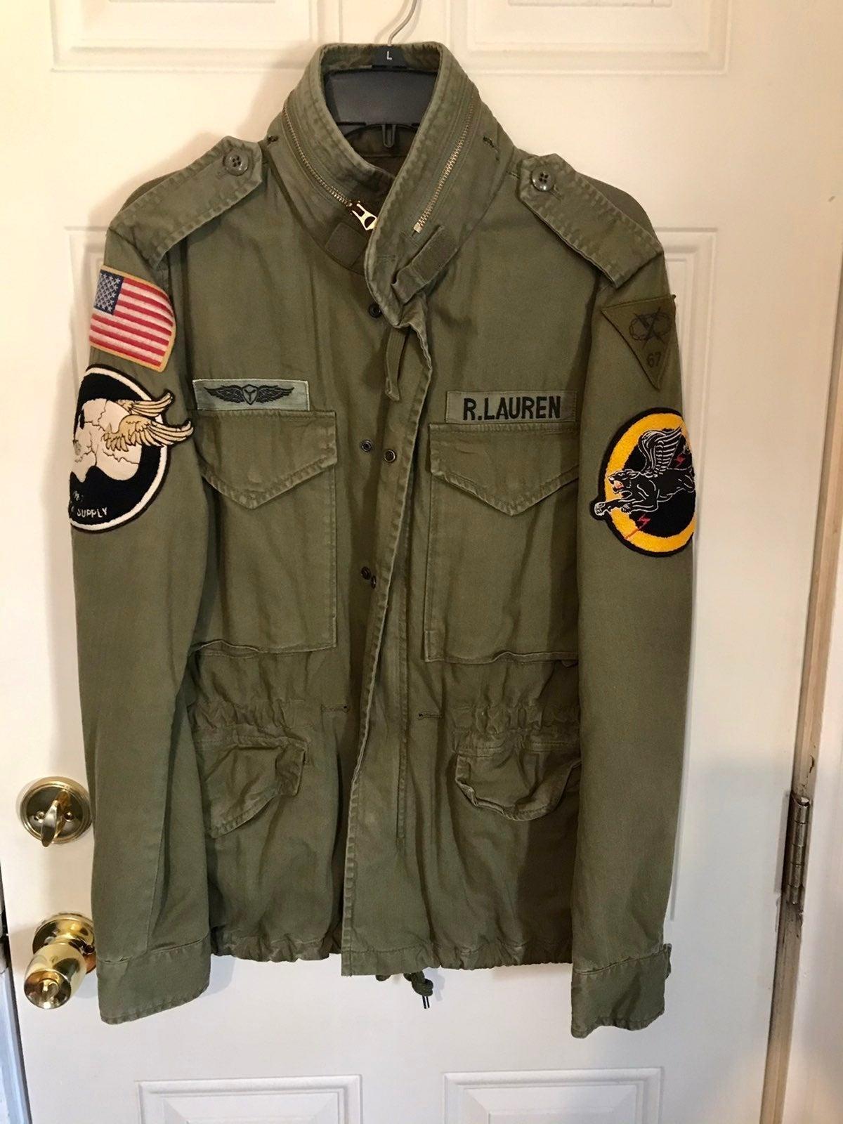 Ralph lauren military jacket