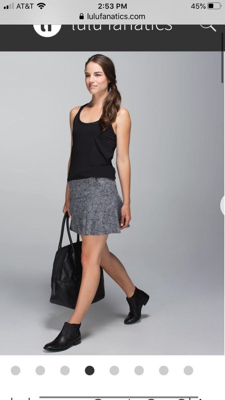 Lululemon Get It On Skirt Plush Petal Bl