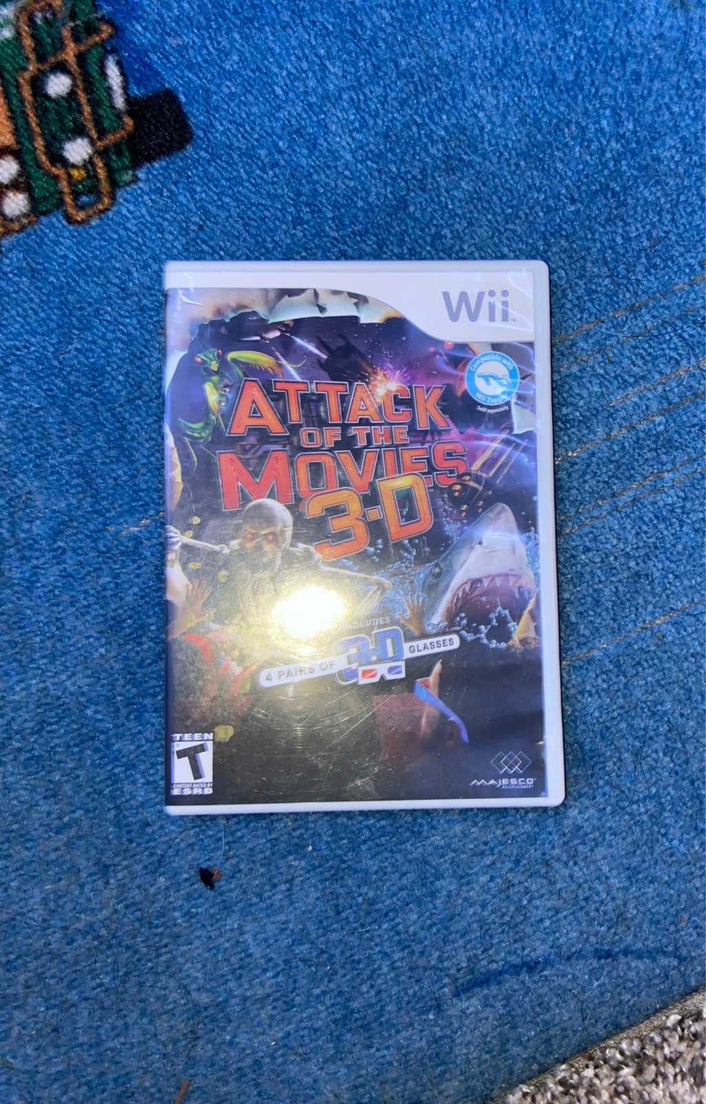 NEW ATTACK OF THE MOVIES WII GAME!