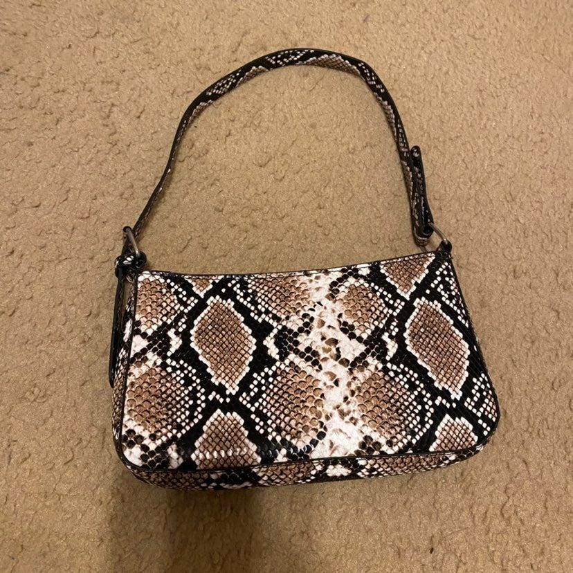 Snake mini shoulder bag