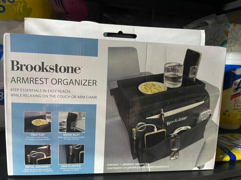 Brookstone Armrest Organizer