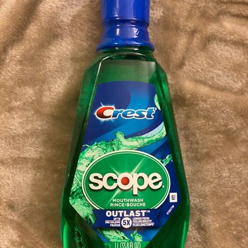 Crest Scope Mouthwash
