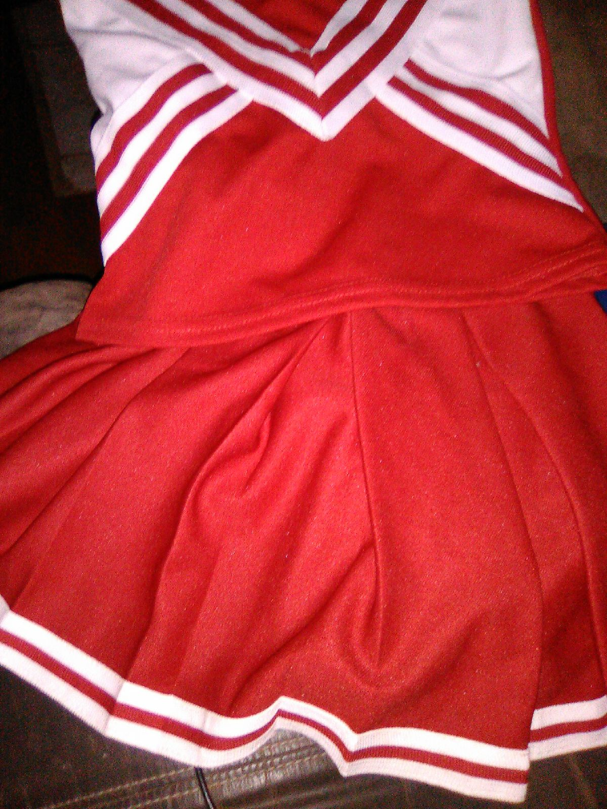 Halloween Costume Cheer Leading Outfit
