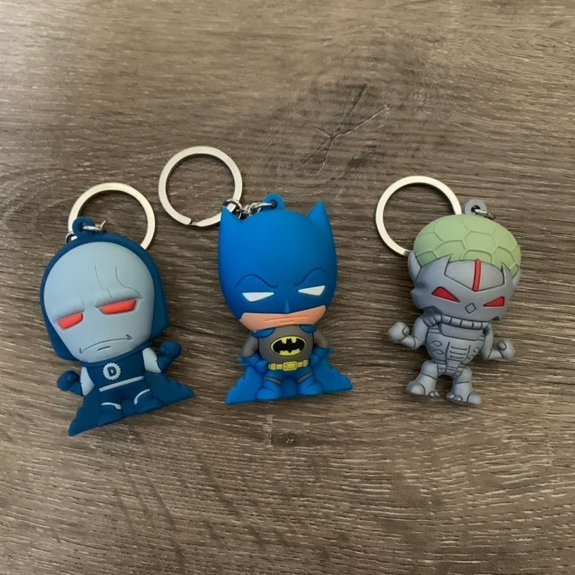 Super Powers Collection Keychains