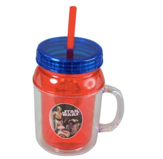 Set of 2 Star Wars Plastic Mug