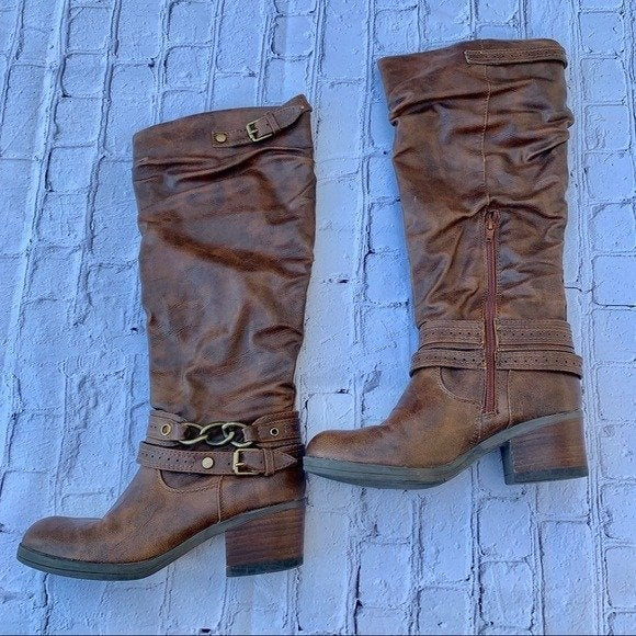 Carlos Santana Boots Brown size 6