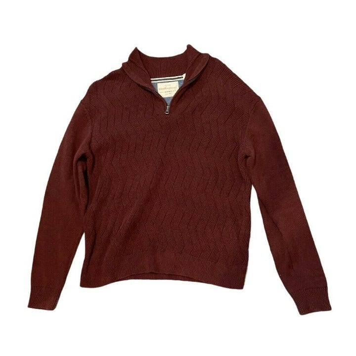 Weatherproof Mens Pullover Sweater Red