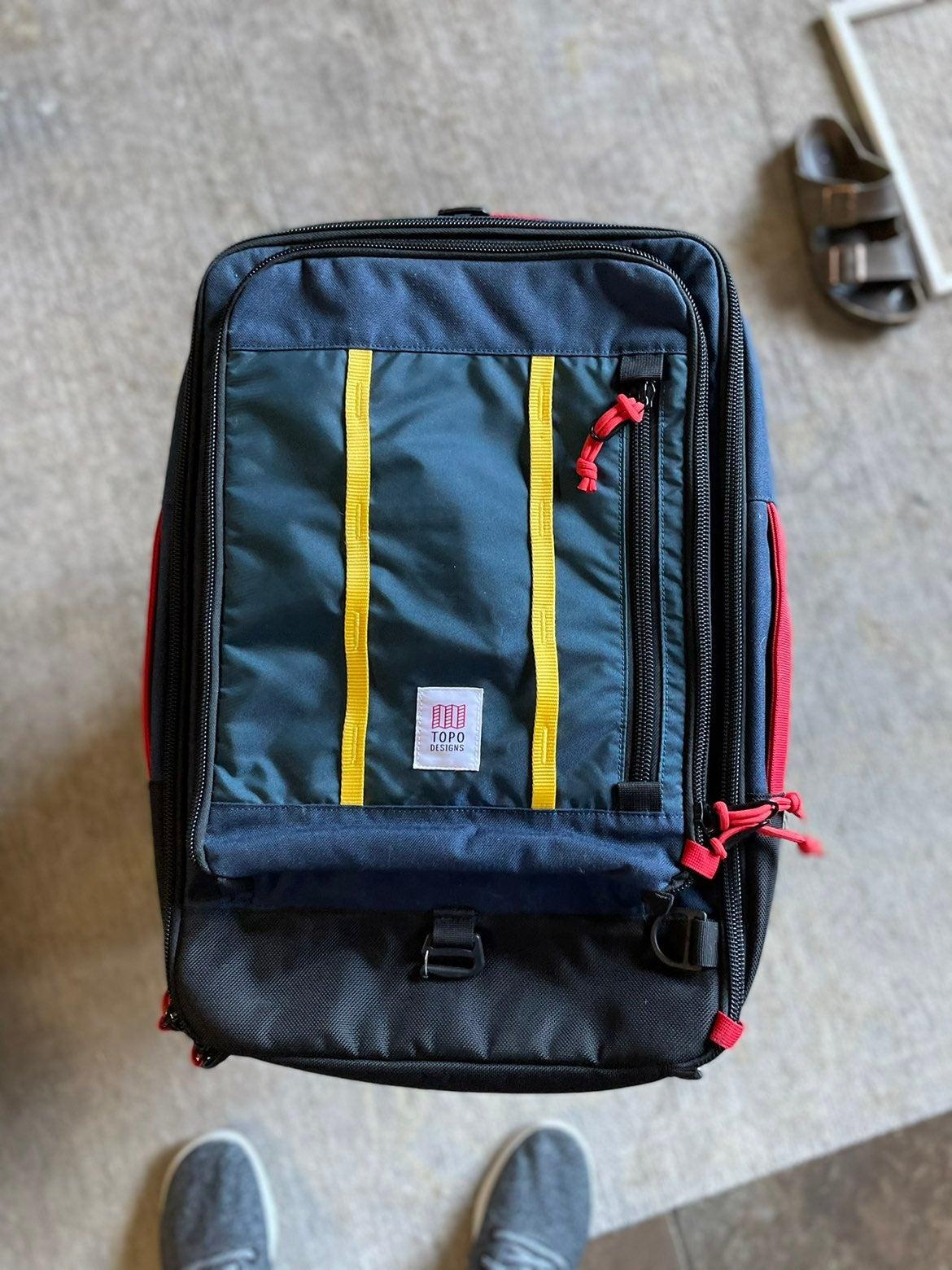 Topo designs 30L travel bag