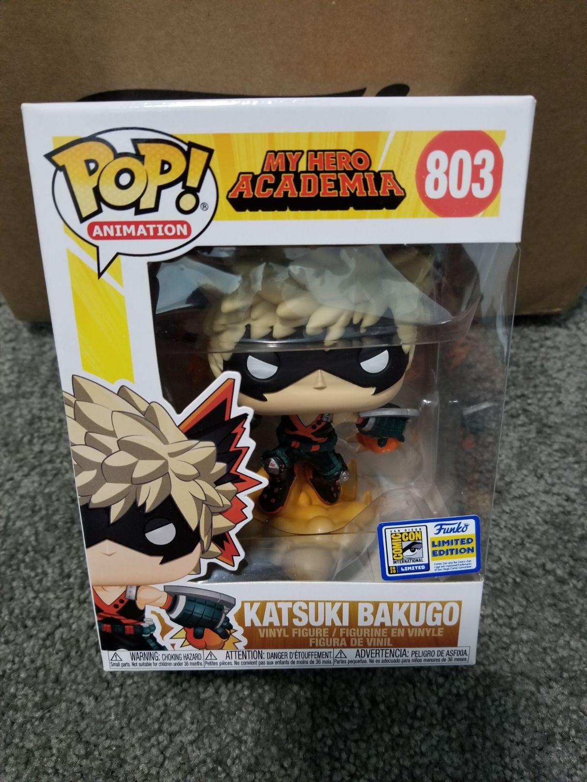 Katsuki Bakugo SDCC Funko Pop Offical