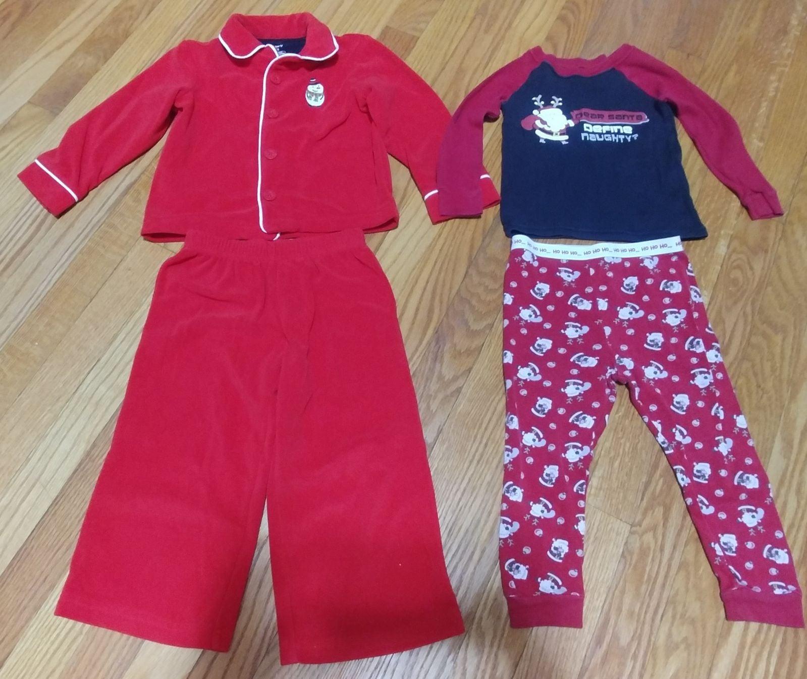 Toddler Boy Pajamas - Size 3t