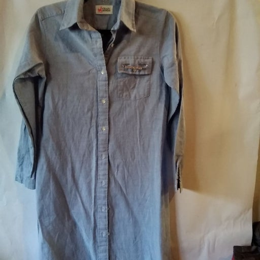 FINAL PRICE⚡Crazy Horse Shirt Dress Liz