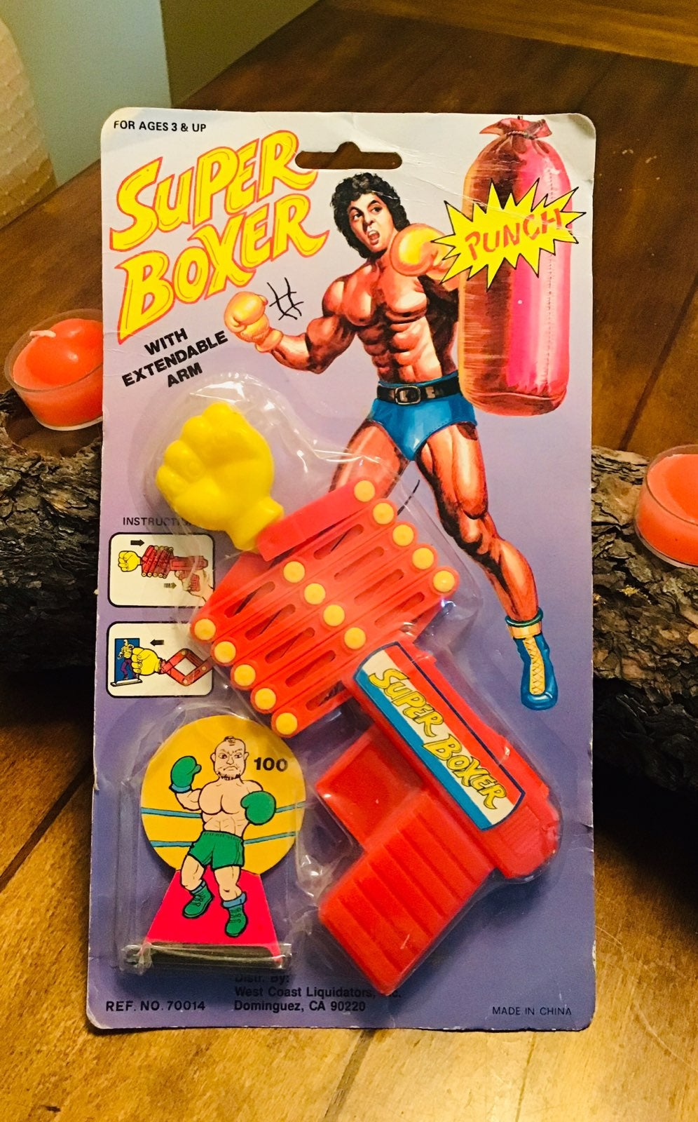 NEW 1980s Super Boxer With Extendable Ar