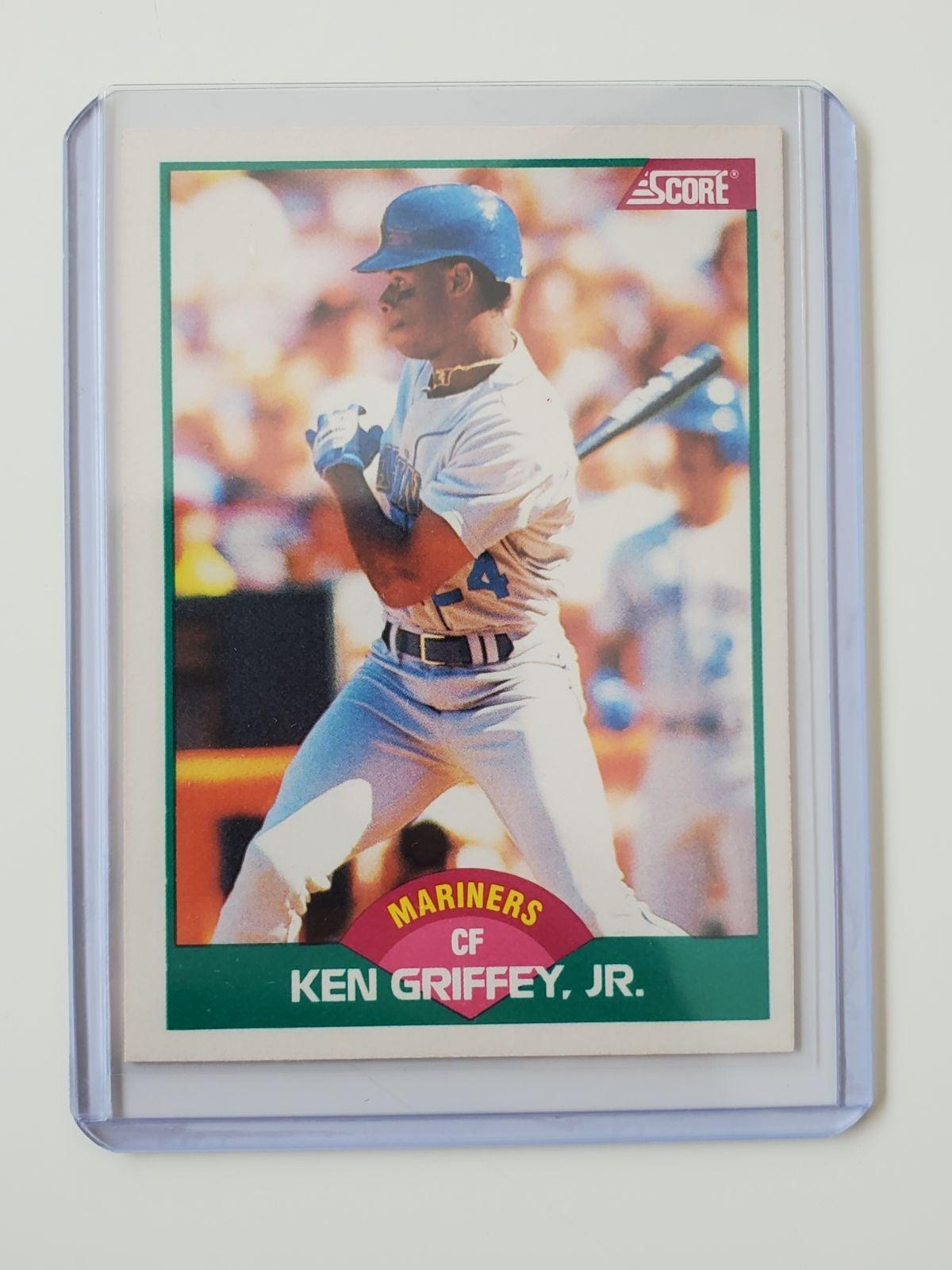 Ken griffey Jr. Score rookie card