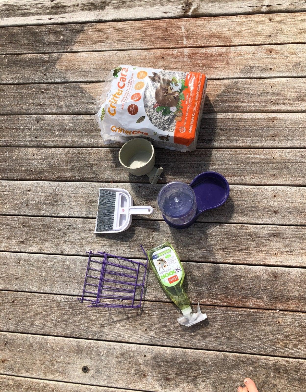 Bunny supplies