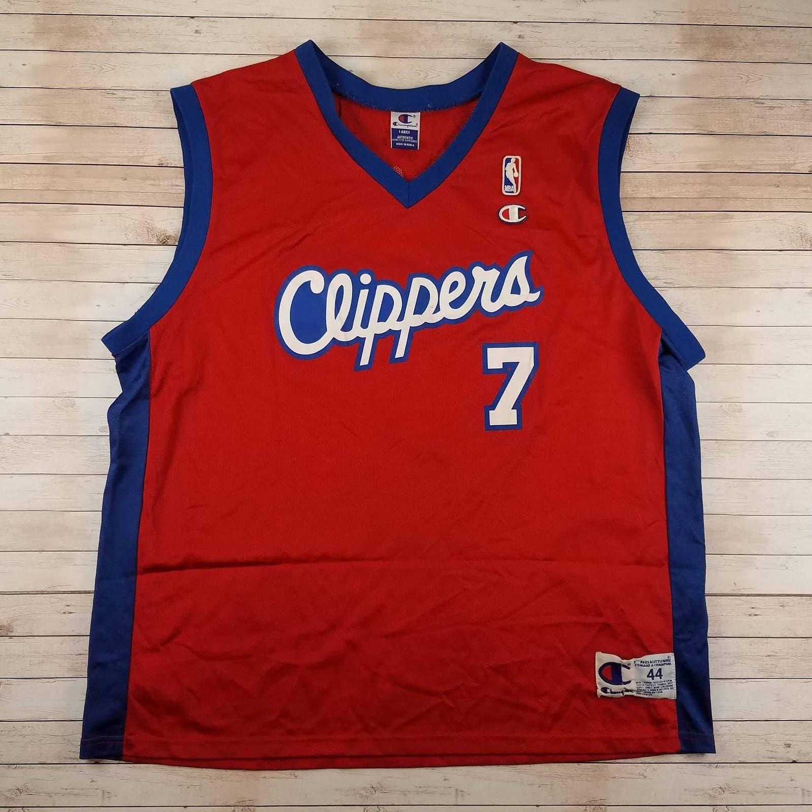 VTG 90s Odom LA Clippers Champion Jersey