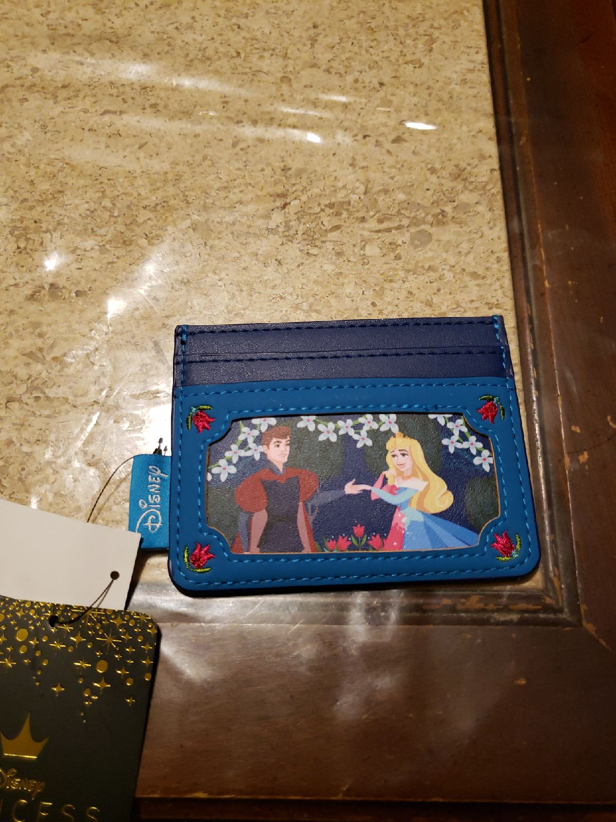 Sleeping beauty Loungefly Card holder