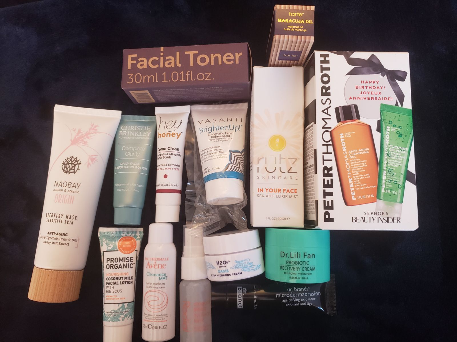 Facial / spa day bundle