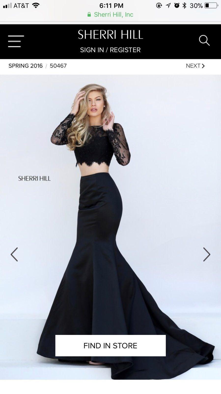 Sherri Hill 2016 Prom Dress