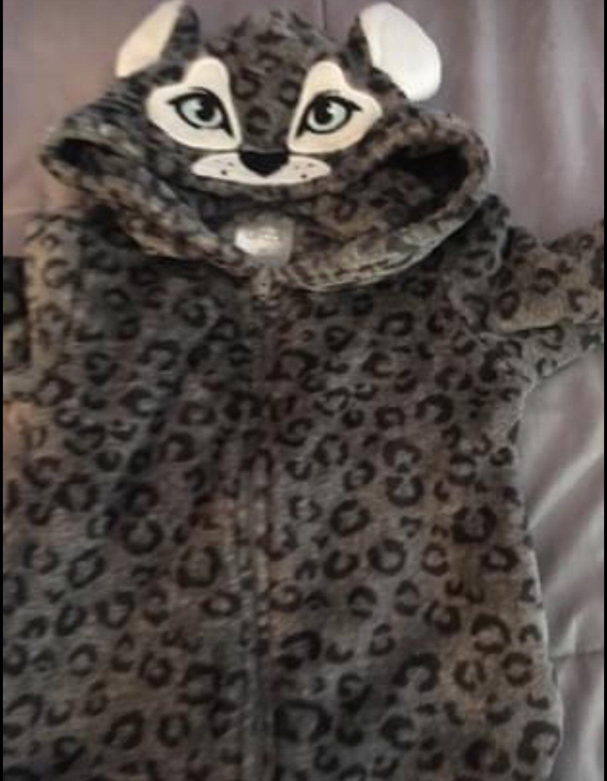 Sleeper outfit sz 3T Leopard zip up