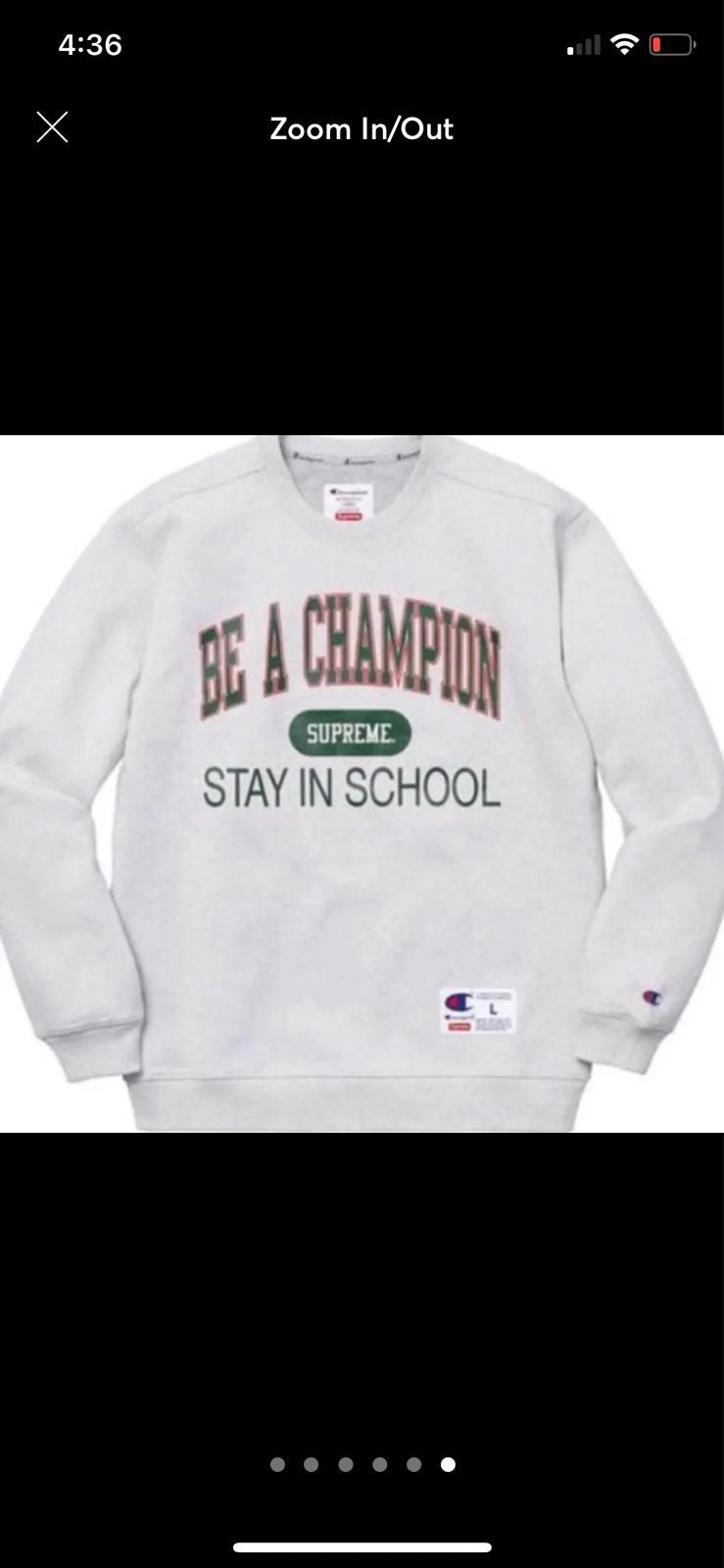 SUPREME/CHAMPION Be A Champion Stay in S