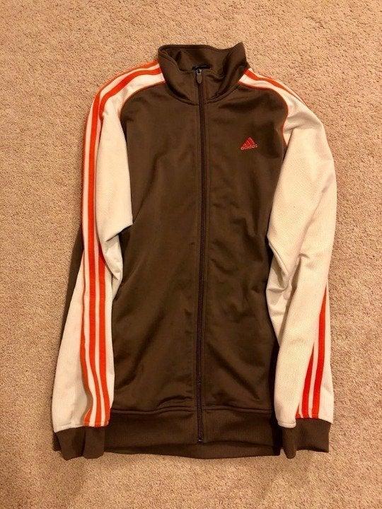 Adidas stripe Zip up Jacket Vintage Styl
