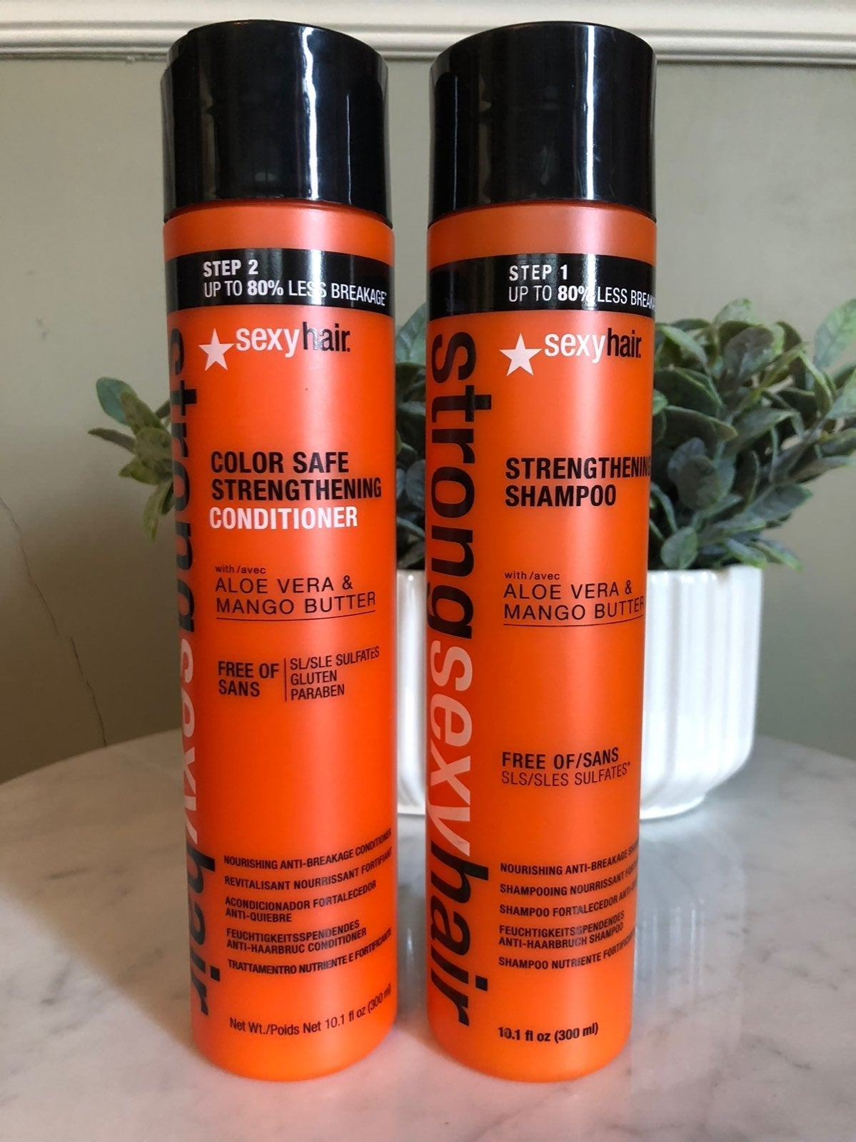 Strong Sexy Hair Shampoo & Conditioner