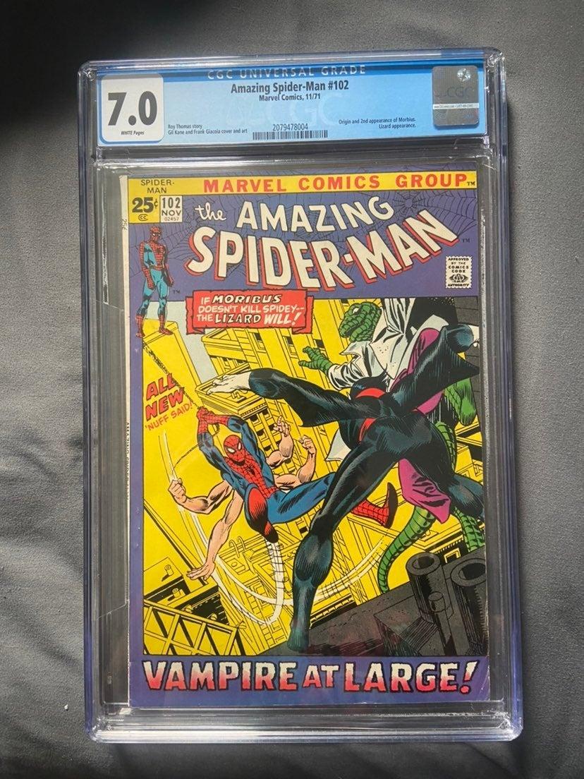 Amazing spiderman 102 CGC 7.0