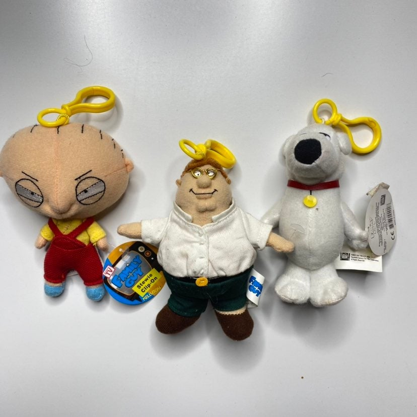 Family Guy Group Key Chain Stuffies