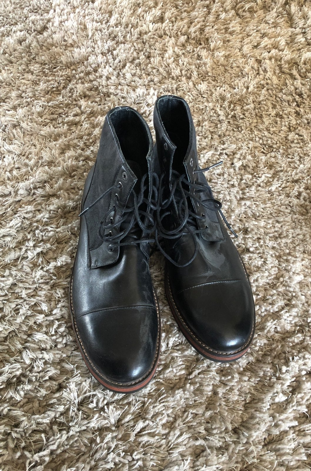 Leather Boots Size 10.5