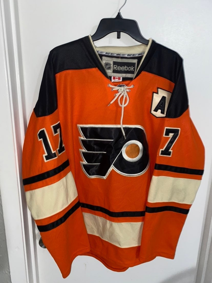 Authentic Ice Flyers #17 Simmonds Jersey