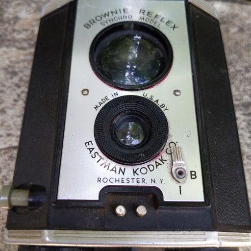Vint Kodak Brownie reflex synchro camera