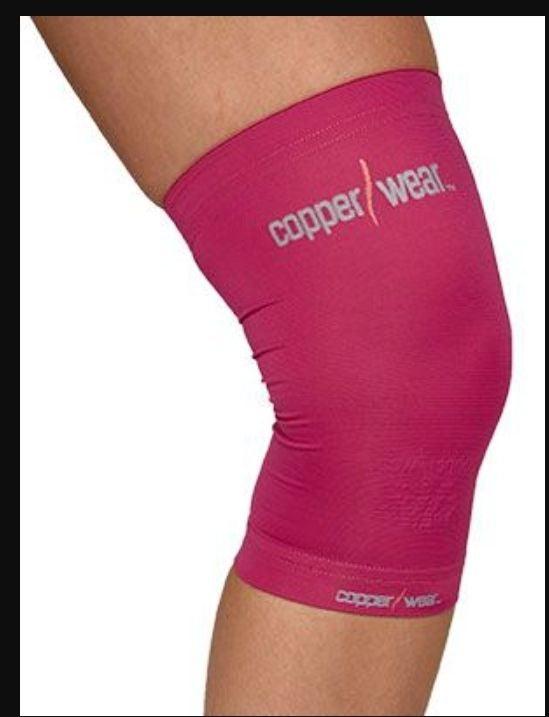 Pink Knee Sleeve Large Compression