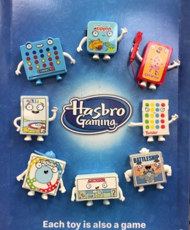 McDonalds Hasbro Toy Mini Games Set of 3