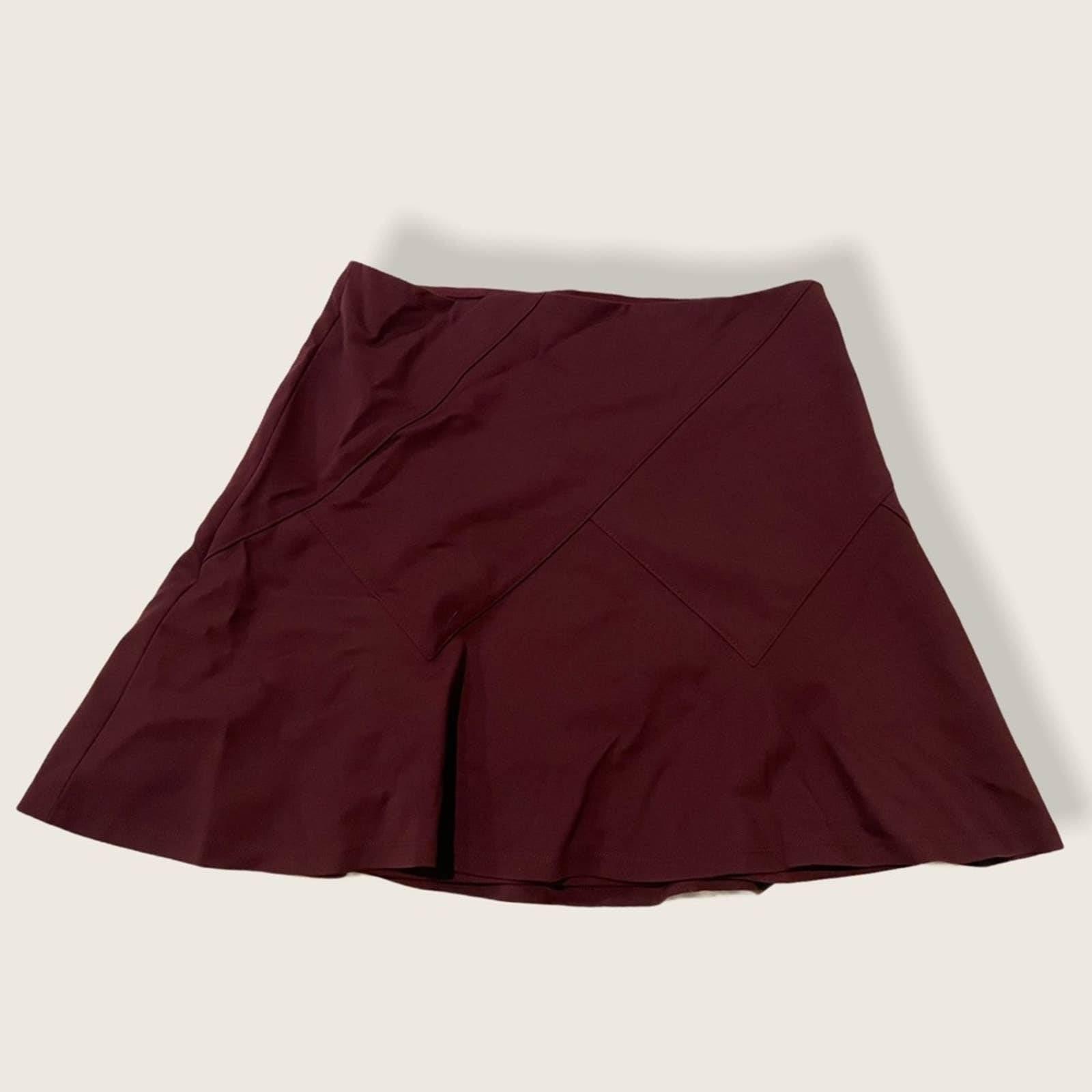 White House Black Market Ponte Skirt 12