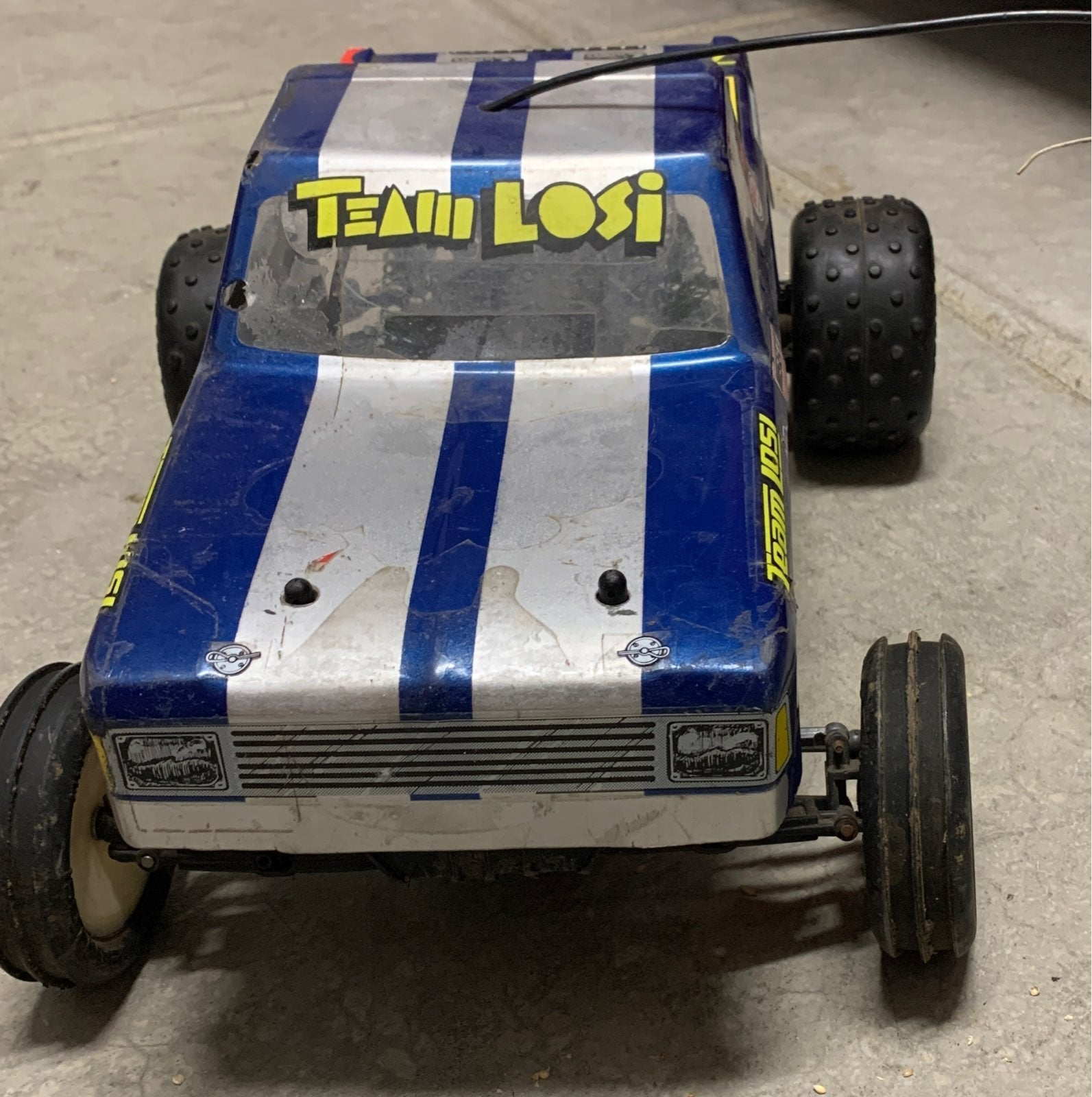 Team losi JRT rc truck rc car vintage