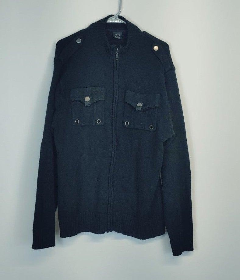 GMAG Men's Zip Up Sweater
