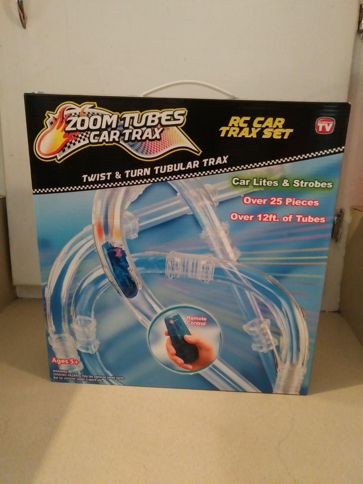 Zoom Tubes Car Trax 25-Pc RC Car Trax Se