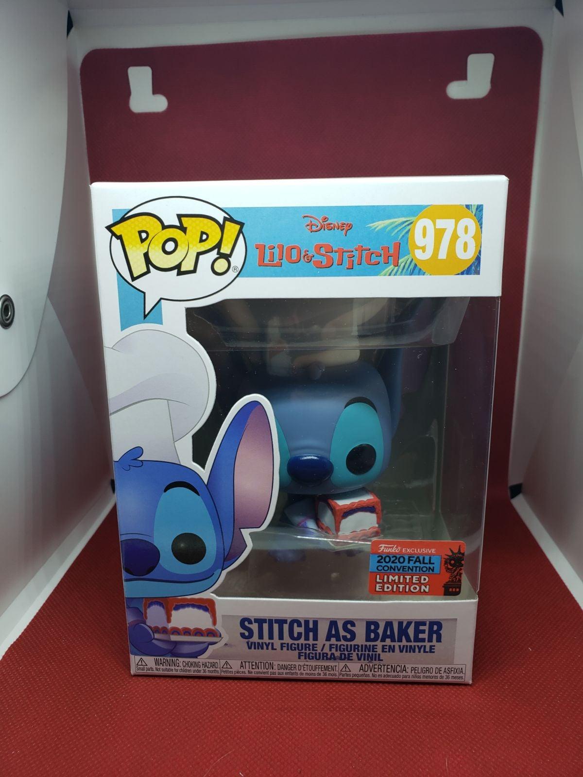 Stitch as a Baker Funko