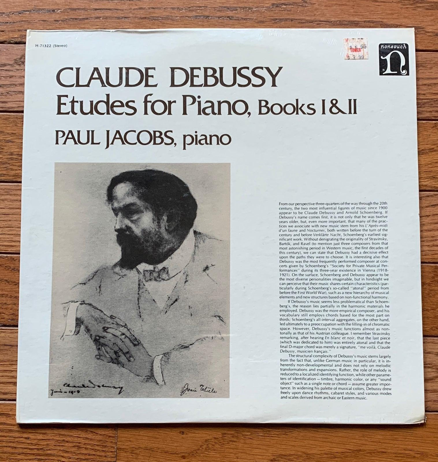 Sealed Debussy Etudes Vinyl Record Lp