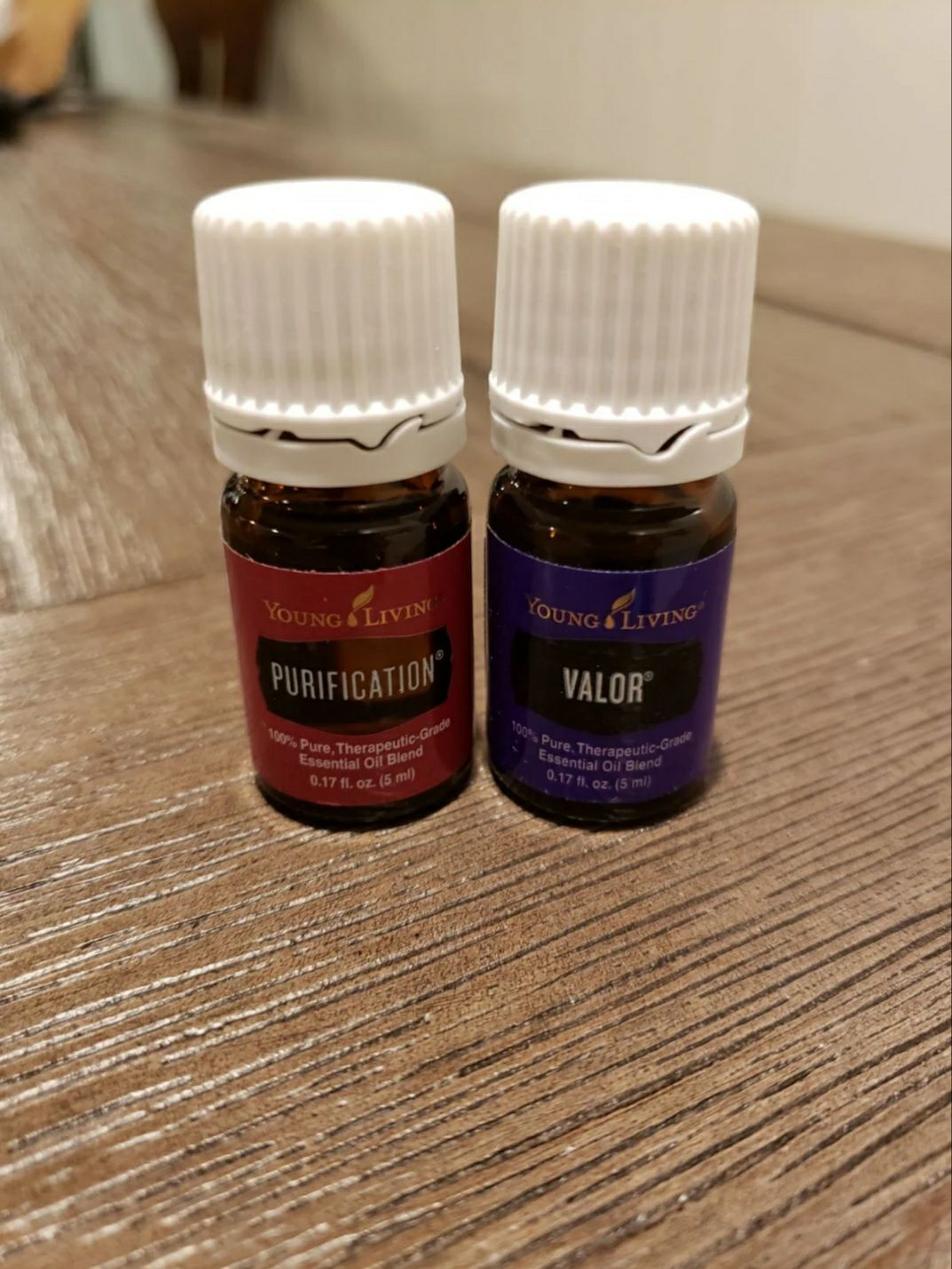 Young Living Purification & Valor