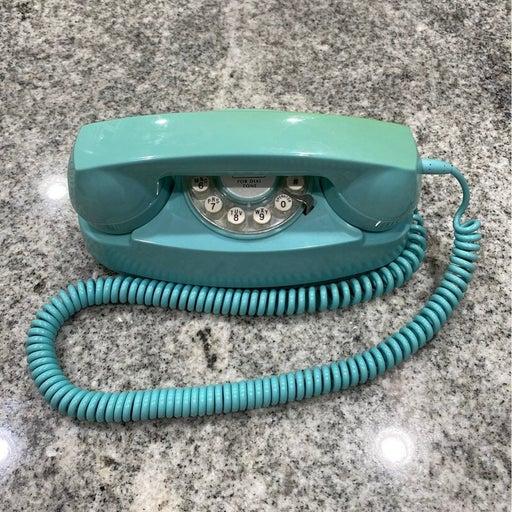 Push button landline telephone
