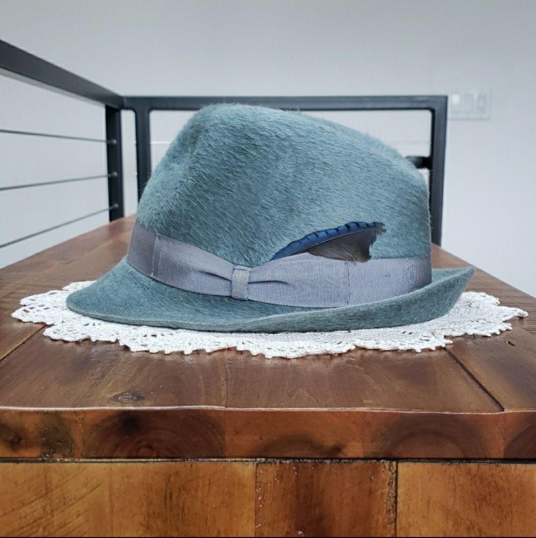 Borsalino Trilby Fur Felt Fedora Hat