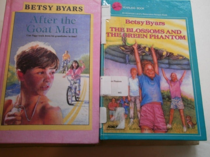 6 different Betsy Byars books:the pinbal