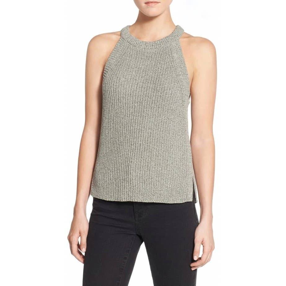 Madewell Valley Sweater High Neck Tank
