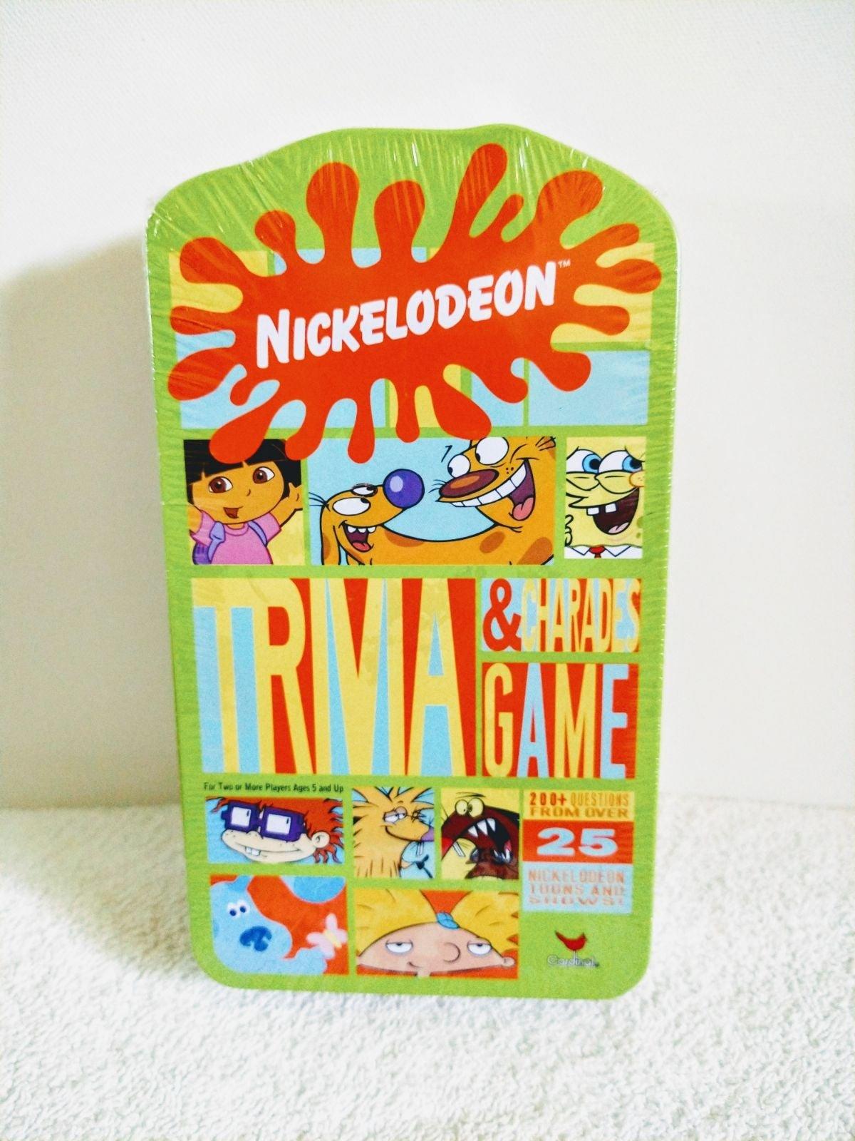 Nickelodeon 'Trivia & Charades' Game