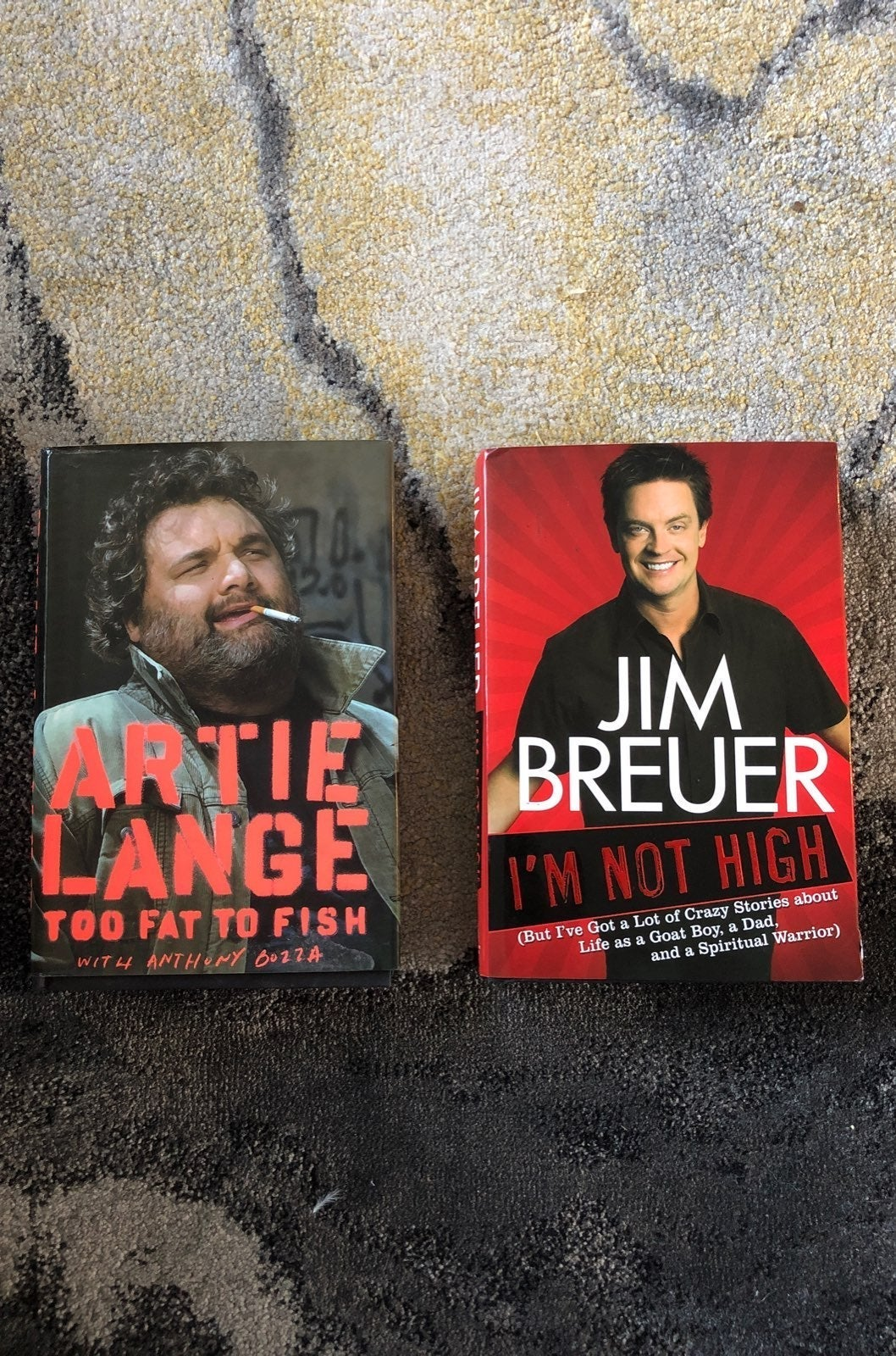 Artie Lange and Jim Breuer books