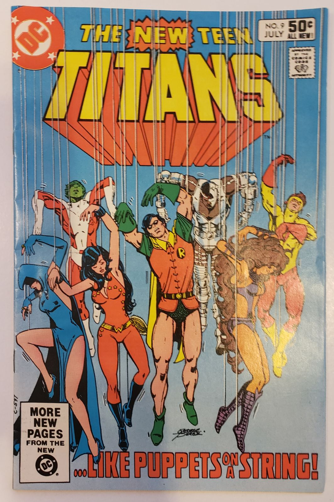 The New Teen Titans 9 1981 Deathstroke A