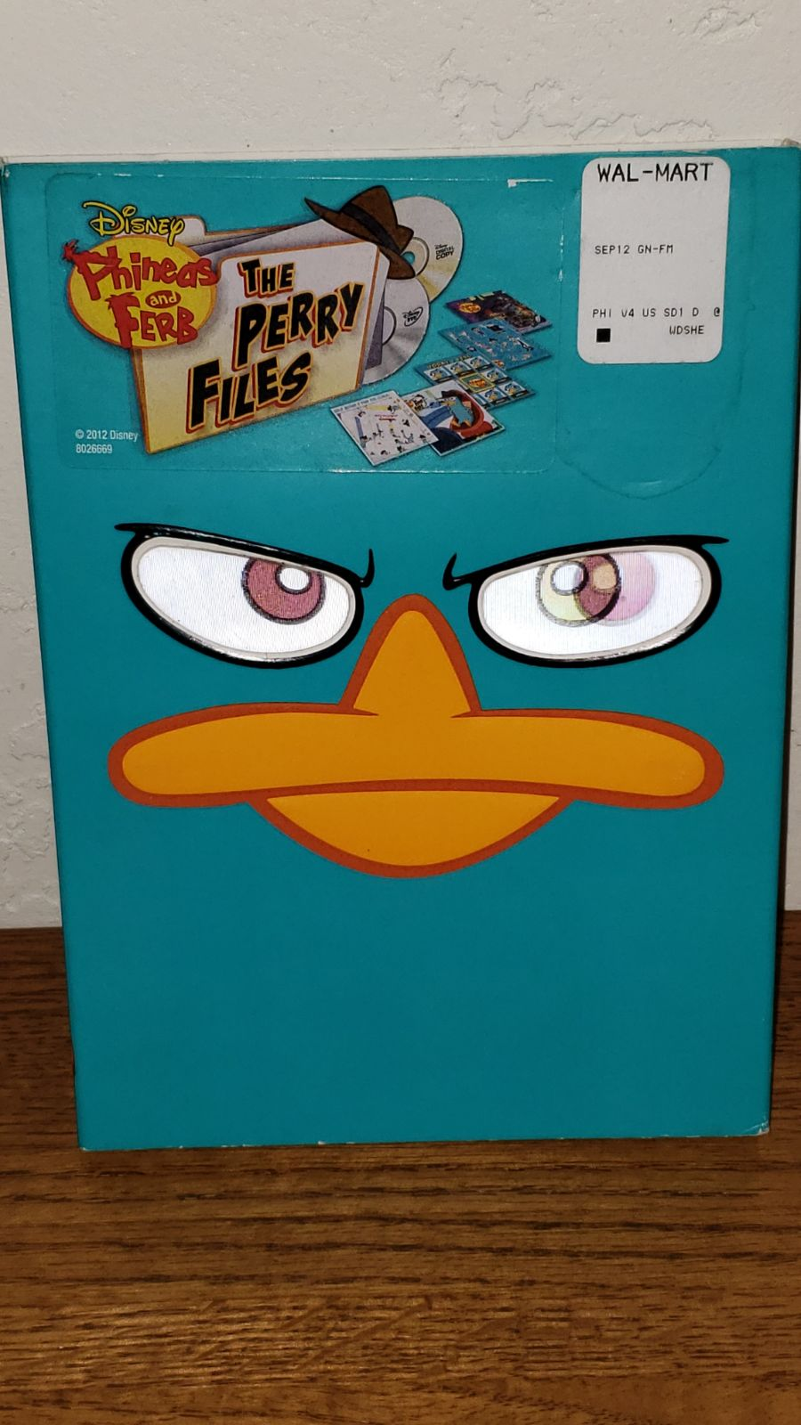 Phineas and Ferb Perry Files